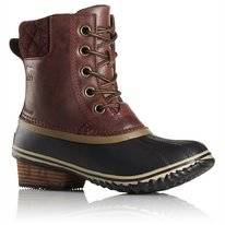 Sorel Women Slimpack II Lace Redwood British Tan