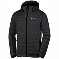 Jas Columbia Men Powder Lite Hooded Black
