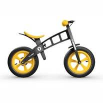 Loopfiets FirstBike Limited Edition Yellow With Brake