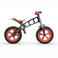 Loopfiets FirstBike Limited Edition Red With Brake