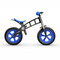 Loopfiets FirstBike Limited Edition Blue With Brake