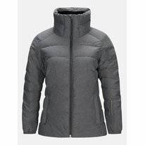 Skijacke Peak Performance Vel Grey Melange Damen