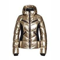 Ski Jas Goldbergh Women Fjal No Fur Gold