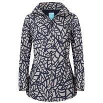 Regenjas Happy Rainy Days Jacket Nahla Leaf Clay Navy