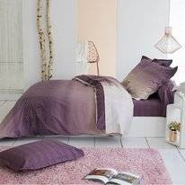 Parure de Lit Tradilinge James Prune Percale
