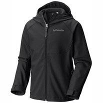 Jas Columbia Youth Cascade Ridge Softshell Black
