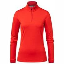 Skipully KJUS Women Feel Halfzip Fiery Red