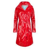 Regenjas Happy Rainy Days Long Rain Rain Mac Ronja Red