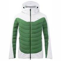 Ski Jas KJUS Men Sight Line Jacket White Pine Green