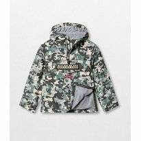 Jas Napapijri Youth Rainforest Camu Green Camo