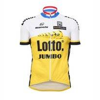 Fietsshirt Santini Lotto Jumbo Replica Short Sleeve