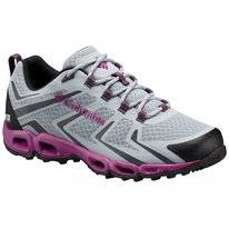 Trail Running Shoes Columbia Women Ventrailia 3 Low Outdry Earl Grey Intense Violet