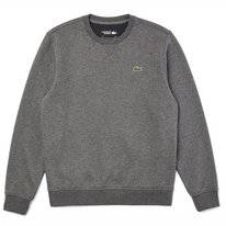 Jumper Lacoste Men SH1505 Sport Flamed Grey / Dark Grey