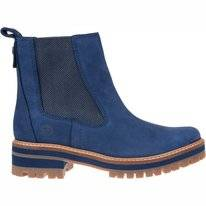Timberland Women Courmayeur Valley Chelsea Navy Nubuck