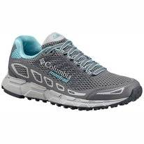 Trail Running Shoes Columbia Women Bajada III Titanium Grey Steel