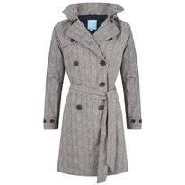 Regenjas Happy Rainy Days Trenchcoat Celeste Stripes Clay Navy