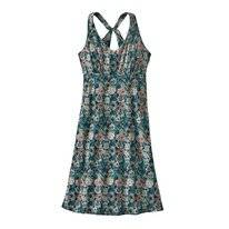 Jurk Patagonia Women's Magnolia Spring Dress Furnai Floral Neo Navy
