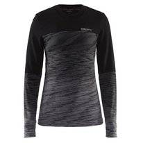 Long Sleeve T-Shirt Craft Wool Comfort 2.0 Women Black