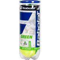 Tennisbal Babolat Green X3 Yellow