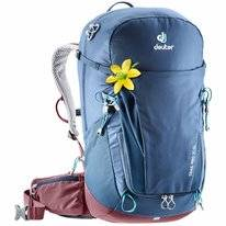 Backpack Deuter Trail Pro 30 SL Midnight Maron