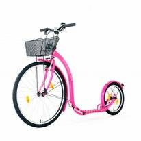 Step Kickbike City G4 Pink + Basket