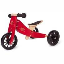 Loopfiets Kinderfeets Tiny Tot Cherry Red