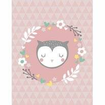 Vloerkleed Mood Collection Sleepy Owl