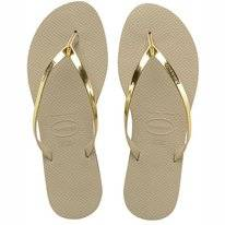 Tongs Havaianas You Metallic Sand Grey/Light Golden
