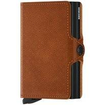 Portemonnee Secrid Twinwallet Perforated Cognac