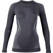 Undershirt UYN Women Evolutyon Long Sleeves Charcoal Anthracite Aqua