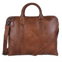 Laptoptas DSTRCT Fletcher Street Business 11,6 inch Juliett Cognac
