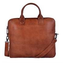 Laptoptas DSTRCT Fletcher Street Business 13,3 inch Kilo Cognac