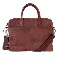 Laptoptas DSTRCT Wall Street 15,4 inch Alfa Brown