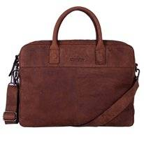 Sacoche Ordinateur Portable DSTRCT Wall Street 15,6 inch Echo Brown
