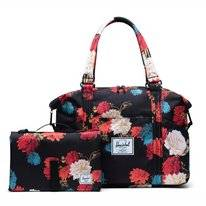 Draagtas Herschel Supply Co. Strand Sprout Vintage Floral Black