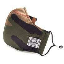Face Mask Herschel Supply Co. Classic Fitted Face Mask Woodland Camo