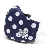 Face Mask Herschel Supply Co. Classic Fitted Face Mask Peacoat Polka Dot
