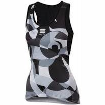Fietsshirt Sportful Women Primavera Top Black White