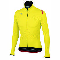 Fietsjack Sportful Women Fiandre Ultimate Jacket Yellow Fluo