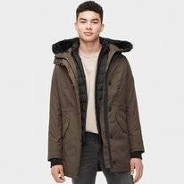 Jas UGG Men Butte Parka Dark Olive