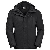 Jas Jack Wolfskin Men Three Peaks Black