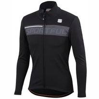 Fietsjack Sportful Men Neo Softshell Jacket Black Antharcite