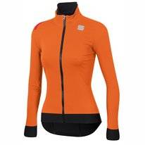 Fietsjack Sportful Women Fiandre Pro Jacket Orange SDR