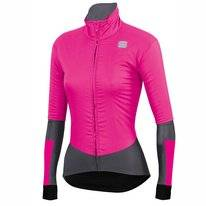 Fietsjack Sportful Women Bodyfit Pro Jacket Bubble Gum Anthracite
