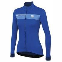 Fietsjack Sportful Women Neo Softshell Jacket Blue Cosmic Blue Twilight
