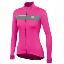 Fietsjack Sportful Women Neo Softshell Jacket Bubble Gum