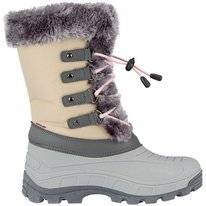 Schneestiefel Winter-Grip Northern Glam Beige Grau Hellrosa Damen