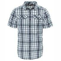 T-Shirt The North Face Men Pine Knot Asphalt Grey Plaid