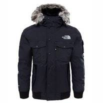 Jas The North Face Men Gotham Jacket TNF Black High Rise Grey