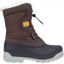 Schneestiefel Winter-Grip Senior Canadian Explorer II Braun Anthrazit Ockergelb